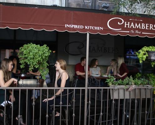 Chambers: Inspired Kitchen & Whiskey Lounge - Downtown Phoenix Patio